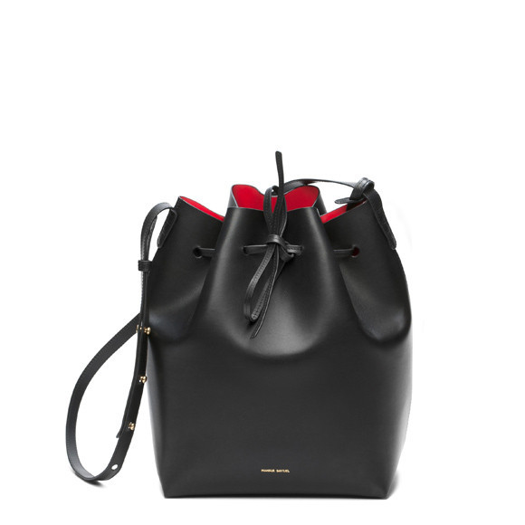 Calf Bucket Bag